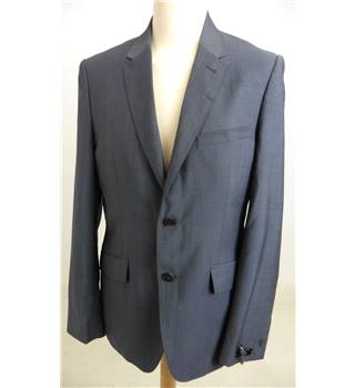"Ted Baker Size Medium 40"" chest, Tailored Fit Charcoal Grey Stylish ""Naples"" Wool Single Breasted Jacket."