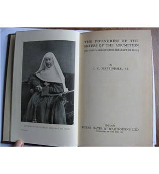 The Foundress of the Sisters of the Assumption (Mother Marie-Eugénie Milleret de Brou)