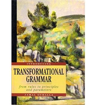 Introducing transformational grammar