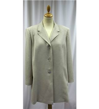 Viyella - Size: 18 - Beige - Long jacket
