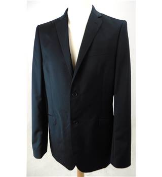 "Ted Baker Size Medium, 40"" Chest, Tailored Fit Black Stylish ""Endurance"" Wool Single Breasted Jacket."