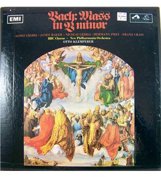 Bach - Mass in B Minor BBC Chorus, New Philharmonia Orchestra, Otto Klemperer - SAN903/3