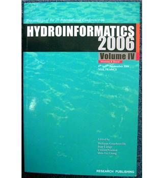 Proceedings of the 7th International Conference on Hydroinformatics 2006, Volume IV