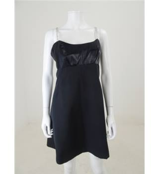 Cecilia de Nunez Size S Black Cocktail Dress