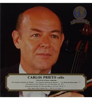 Cello Recital - Prieto, Carlos