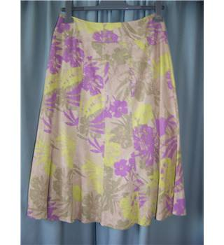ISLE - Size: 10 - Multi-coloured - Calf length skirt