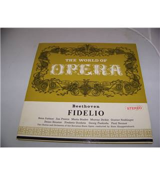 The World of Opera series: Beethoven Fidelio (3xLP) The Chorus and Orchestra of the Bavarian State Opera - 3-OC 104/5/6
