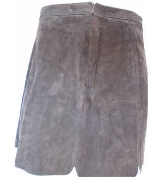 Zara Basic Size 8 Brown Skirt