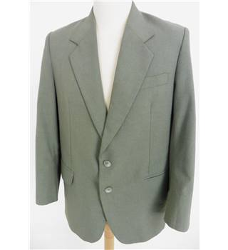 "Christian Armani Size: Jacket, 40"" chest, reg fit & Trousers, 36"" waist, 27"" inside leg Grey Stylish Wool Single Breasted Suit"