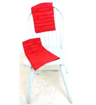 Set of 4 Bright Red Serviette's