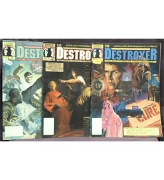 3 Copies of 'The Destroyer' magazine. Volume 1 Numbers 1-3. 1989-1990