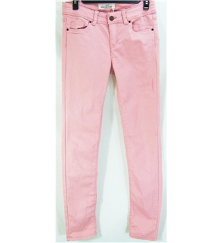 Gap size 14 pink cropped trousers