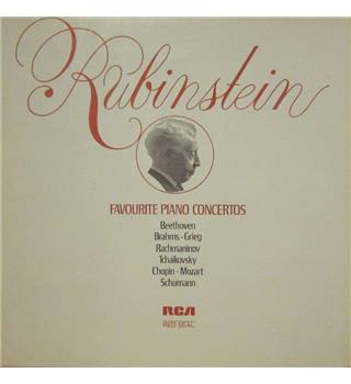 Favourite Piano Concertos 5 LP Boxed set - Rubinstein, Artur - RL43195 (5) 5X