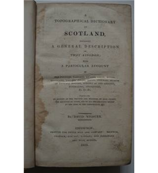 A Topographical Dictionary of Scotland - 1819