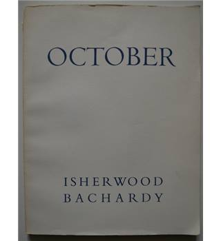 October by Christopher Isherwood and Don Bachardy
