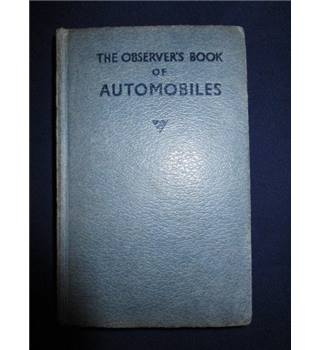 The Observer's Book Of Automobiles twelfth edition