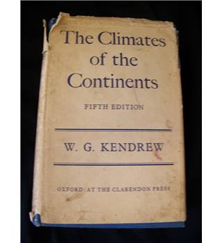 The Climate of the Continents - Fifth Edition