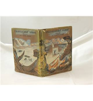Travellers' Verse Lloyd Thomas with many Edward Bawden colour Lithographs 1946 first edn with unclipped dustjacket