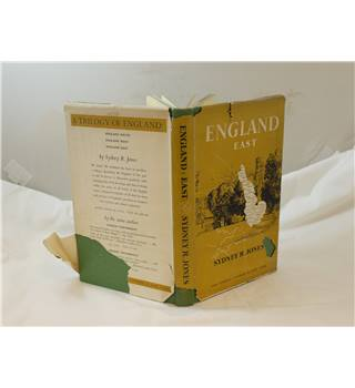 England East by Sydney R Jones published 1954 Studio Publications profusely illustrated in b&w unclipped d/j