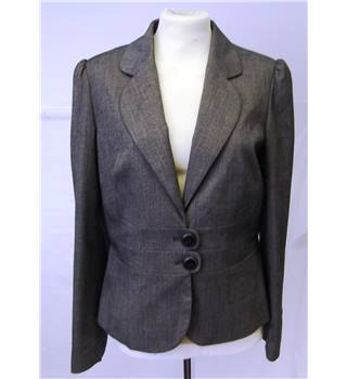 M&S Marks & Spencer - Size: 12 - Brown mix jacket