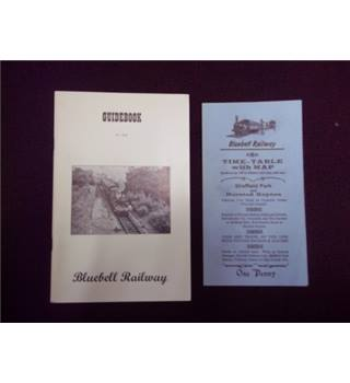 Guidebook to the Bluebell Railway and Timetable with map March 1967 to Feb 1968