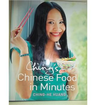 Ching's Chinese food in minutes- Rare Signed copy; First Edition