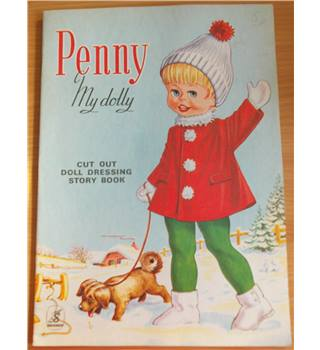Penny My Dolly Cut Out Doll Dressing Story Book