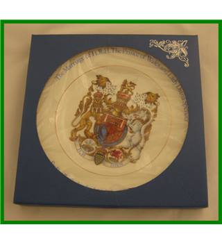 Boxed - Marriage of HRH Prince of Wales and Lady Diana Spencer - commemorative plate