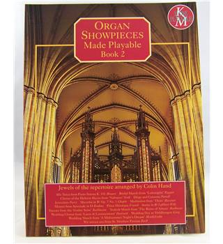 Organ Showpieces Made Playable. Book 2