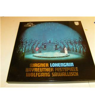 Wagner Lohengrin Bayreuther Festspiele Wolfgang Sawallisch Jess Thomas Silja Crass 4 LP stereo boxset Phillips 6747 241