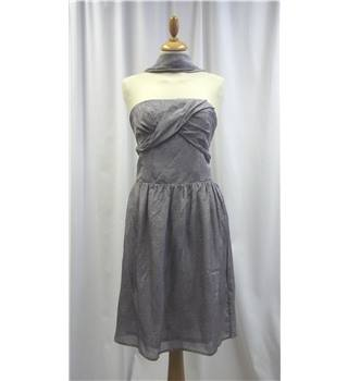 Gar-de - Size: M - Grey - Strapless dress