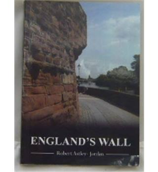 England's Wall signed copy