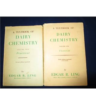 A textbook of Dairy Chemistry Two Volumes.
