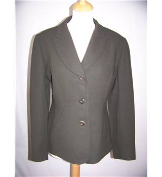 Hobbs - Size: 10 - Green - Smart jacket / coat
