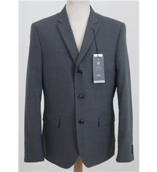 NWOT: M&S Size M: Grey smart wool mix jacket