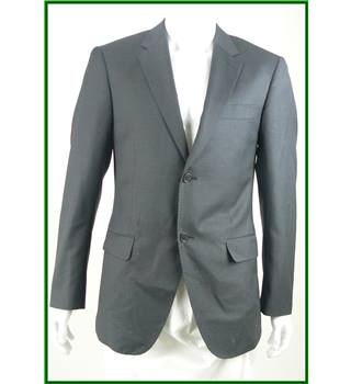 Calvin Klein - Size: 38R - Cement Grey - Single breasted suit jacket