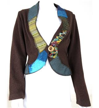 Canvasbacks Size: S Brown Cardigan