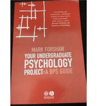 Your Undergraduate Psychology Project