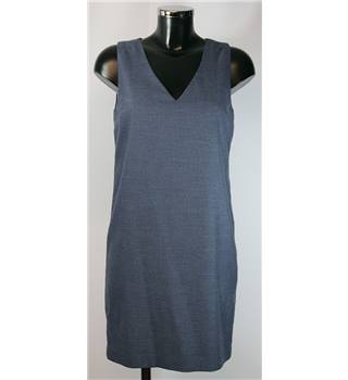 "Next Dress - Blue - Size 6 (chest approx. 34"") Next - Blue - Knee length dress"