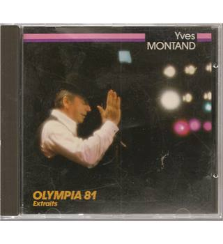 Olympia 81 Extraits Yves Montand