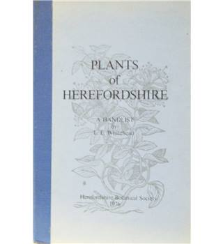 Plants  of Herefordshire  ( Signed copy)