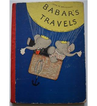 Babar's Travels - Jean De Brunhoff - 1935