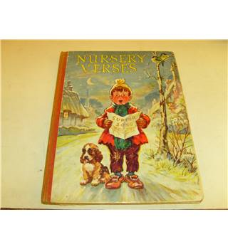 Nursery Verses with seventy illustrations by Marsh Lambert and two in colour Ward Lock c 1925