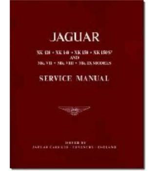 Jaguar XK120, 140, 150 and Mk.7, 8 and ) Workshop Manual