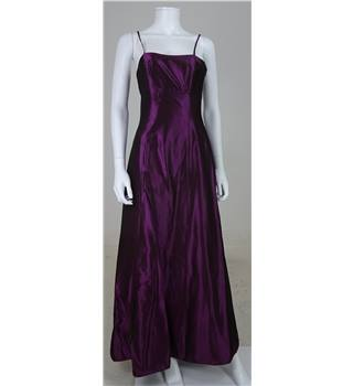 Ariella Size 6/8 Two Tone Purple Spaghetti Strap Bridesmaids Dress