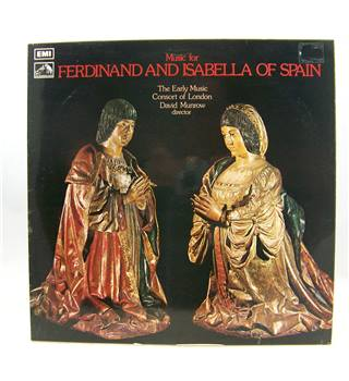 Music for Ferdinand and Isabella of Spain. David Munrow, Early Music Consort of London - CSD 3738
