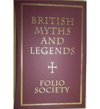 British Myths and Legends- Folio Society Set of three volumes; First Edition, 7th printing