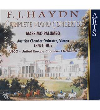 Haydn: Complete Piano Concertos Massimo Palumbo, Austrian Chamber Orchestra, Vienna, Ernst Theis.