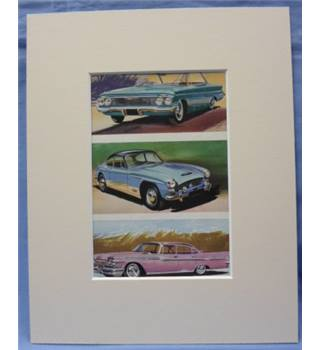 The Ladybird Book of Motor Cars       Plate: Chevrolet Bel-air Sports Coupe, Jenson 541, Chrysler Windsor