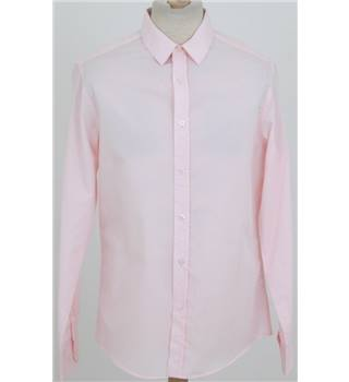 Donated By Mark Ronson Topman size: M pale pink long sleeved shirt